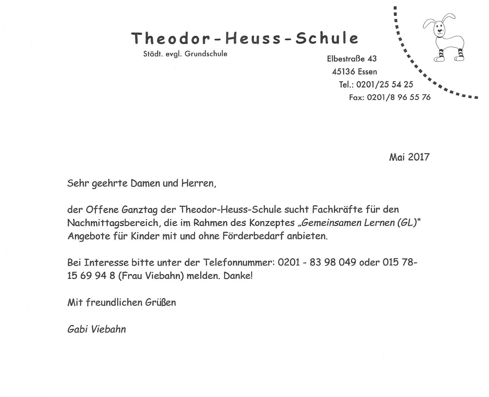 Theodor-Heuss-Schule - Aktuelles