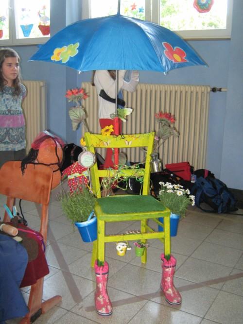 Ergebnisse der Projektwoche: Stühle