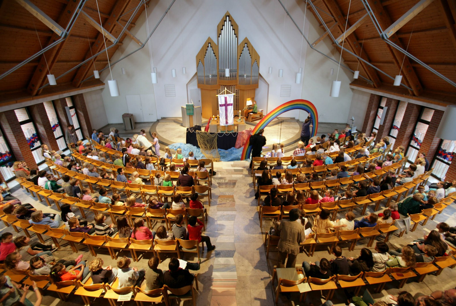 Innenraum Kirche, Gottesdienst