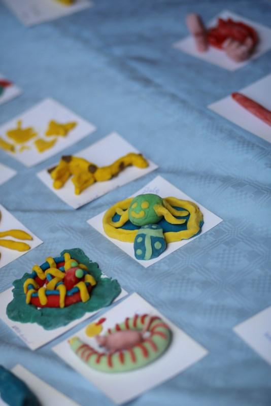 Knettiere vom Spielestand Schulfest