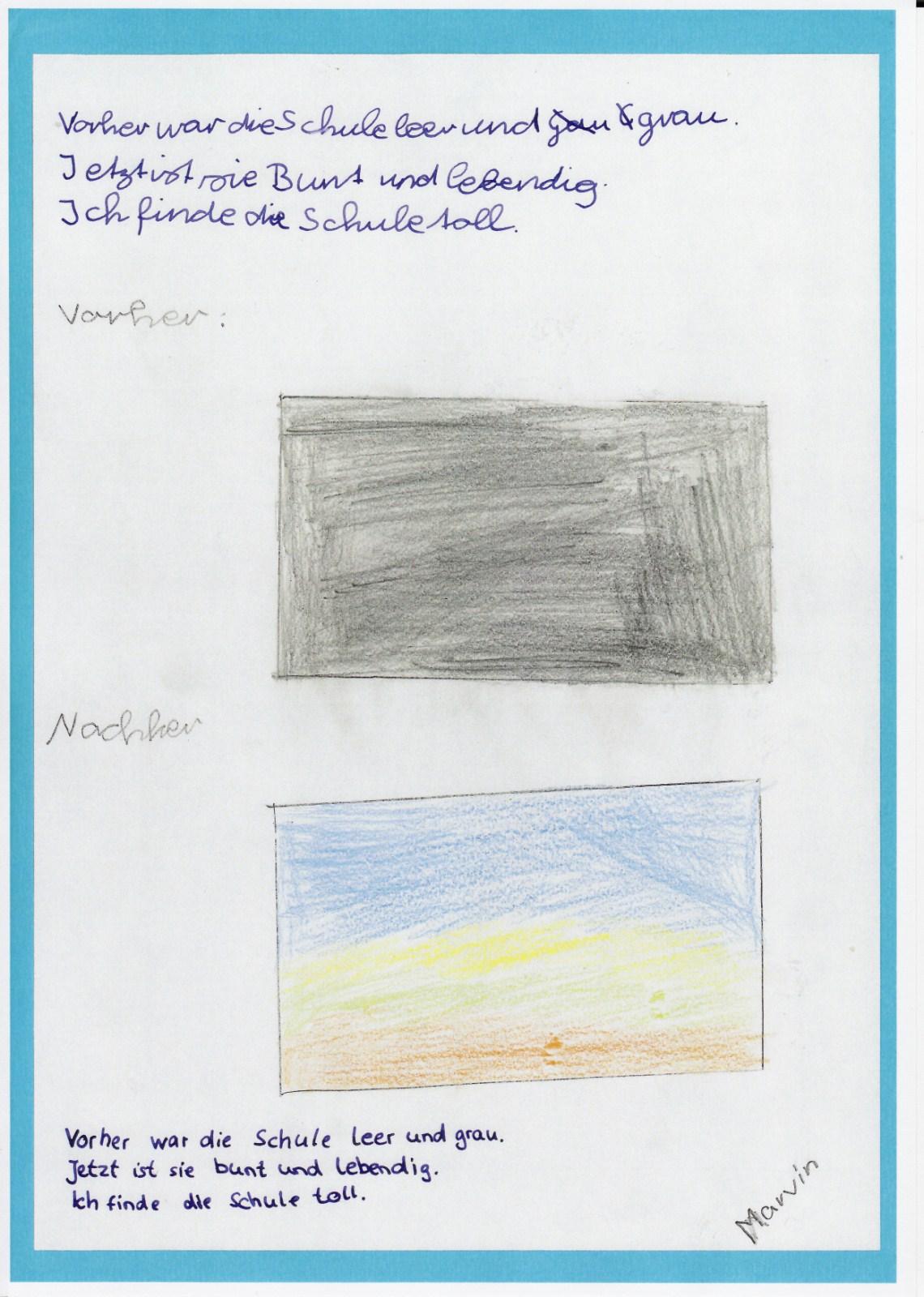 Kinderäußerungen zur Schulgestaltung, Bilder
